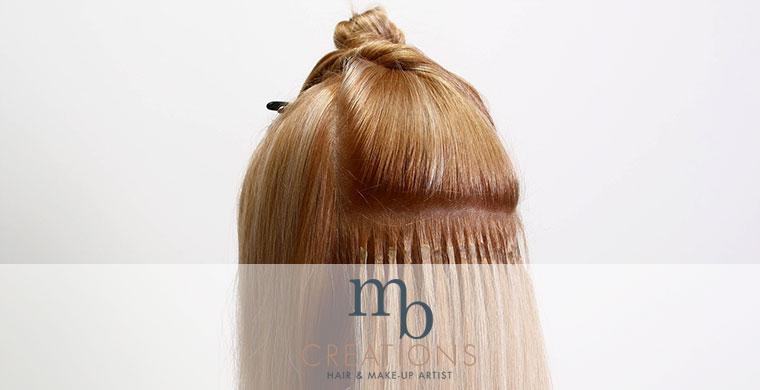hairextensions 100 echt haar mb creations haarstyling